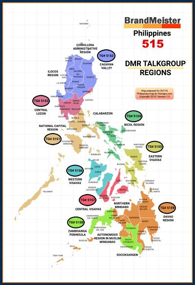 Philippines Talkgroups